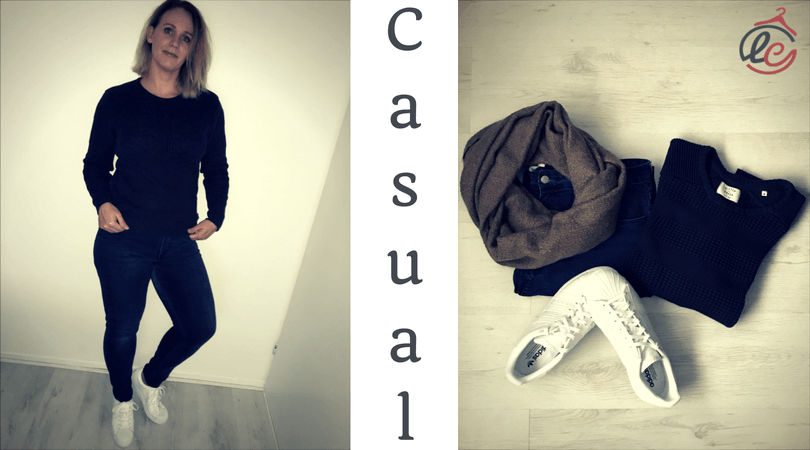 witte sneaker outfit vrouw