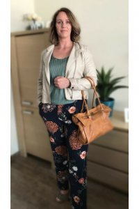 Flower power broek (3)