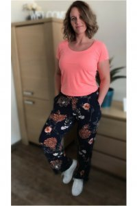 Flower power broek (4)