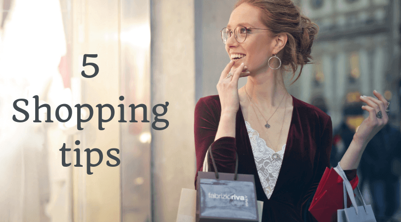 5 Shopping tips